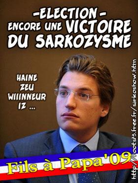 Jean Sarkozy futur président de l'Etablissement public d'aménagement La Défense - Page 2 Filsde